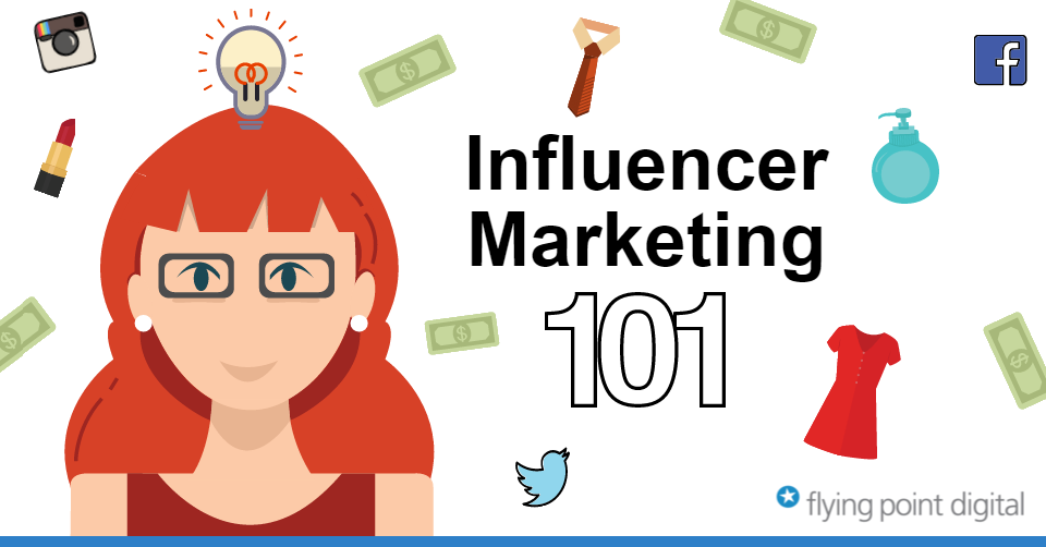 Influencer Marketing Infographic 2016 Flying Point Digital