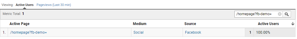 facebook chat default channel grouping in google analytics